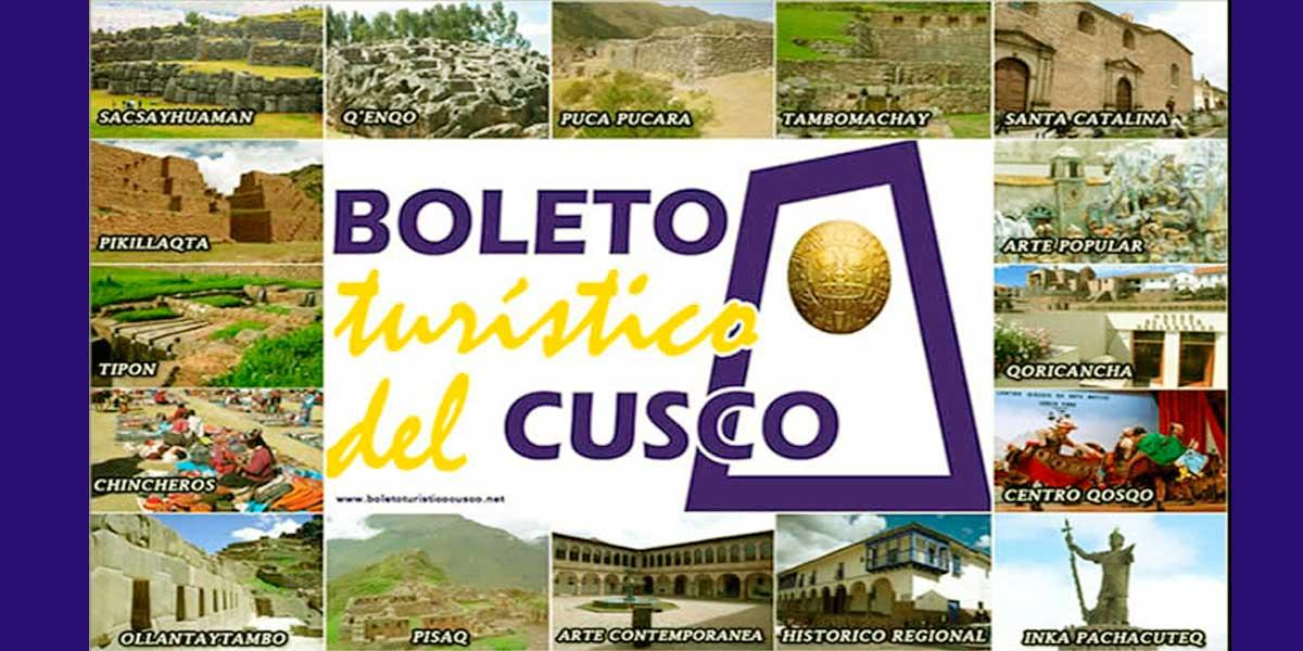 Cusco Toursit Tickets